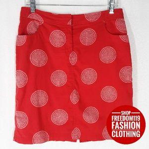 August Silk | A-line w/Pockets Zip Lined Skirt (6)